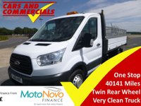2015 FORD TRANSIT TIPPER 350 L2 RWD DRW 1-Stop 125ps £13995.00