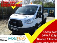 2015 FORD TRANSIT TIPPER 350 L2 RWD DRW 1-Stop 125ps £14995.00