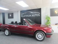 1993 BMW 3 SERIES 318i LUX ConvertIble Manual £9995.00