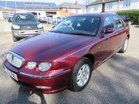 2001 ROVER 75 1.8 CLASSIC SE 4d 118 BHP £850.00