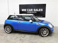 2007 MINI HATCH COOPER 1.6 COOPER S 3d 172 BHP £4799.00