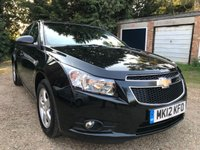 2012 CHEVROLET CRUZE 1.6 LS 4d AUTO 124 BHP £3595.00