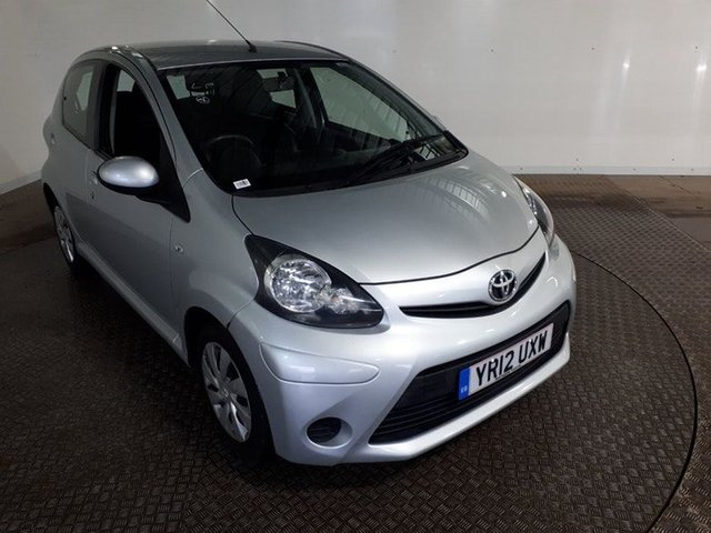 View our 2012 12 TOYOTA AYGO 1.0 VVT-I ICE 5DR 68 BHP