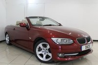 USED 2010 10 BMW 3 SERIES 3.0 325I SE 2DR AUTOMATIC 215 BHP HEATED LEATHER SEATS + PARKING SENSOR + CRUISE CONTROL + MULTI FUNCTION WHEEL + CLIMATE CONTROL + 17 INCH ALLOY WHEELS