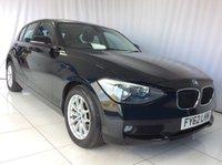 2012 BMW 1 SERIES 2.0 116D SE 5d 114 BHP £8000.00