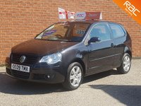 USED 2009 09 VOLKSWAGEN POLO 1.2 MATCH  -- 1 LADY OWNER PLUS VW --