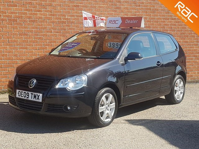 2009 09 VOLKSWAGEN POLO 1.2 MATCH  -- 1 LADY OWNER PLUS VW --