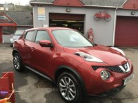 USED 2015 15 NISSAN JUKE 1.5 TEKNA DCI 5d 110 BHP LOOK!! TOP SPEC JUKE WITH FULL LEATHER + ONLY 21000 MILES