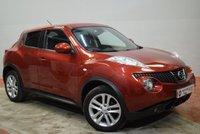 2011 NISSAN JUKE 1.6 TEKNA 5d AUTO 117 BHP £7690.00