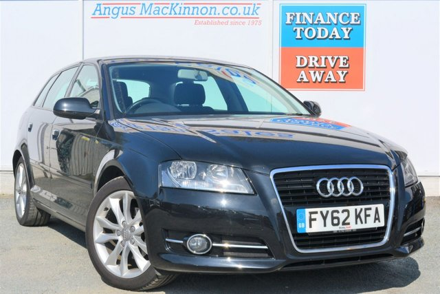 2012 62 AUDI A3 1.6 TDI SPORT 5d Hatchback with Audi SAT NAV Cambelt Replaced, Fully Serviced up to date