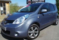 USED 2011 61 NISSAN NOTE 1.6 N-TEC 5d AUTO 110 BHP Nissan +1 Owner - Just 17k Miles - 6 Service Stamps - Rare Auto