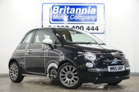 2015 FIAT 500 1.2 RON ARAD EDITION SPECIAL ORDER £6990.00