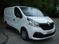 USED 2015 15 RENAULT TRAFIC 1.6 SL29 BUSINESS PLUS DCI L/R P/V 1d 115 BHP