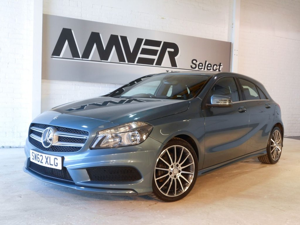 USED 2013 62 MERCEDES-BENZ A CLASS 1.5 A180 CDI BLUEEFFICIENCY AMG SPORT 5d 109 BHP
