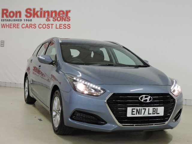 View our 2017 17 HYUNDAI I40 1.7 CRDI S BLUE DRIVE 5d 139 BHP