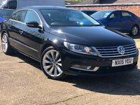 USED 2015 15 VOLKSWAGEN CC 2.0 GT TDI BLUEMOTION TECHNOLOGY DSG 4dr AUTO 138 BHP One owner, Vat Qualifying car.