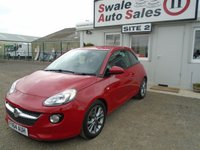 USED 2014 64 VAUXHALL ADAM 1.2 JAM 3d 69 BHP £31 PER WEEK OVER 5 YEARS - SEE FINANCE LINK BELOW