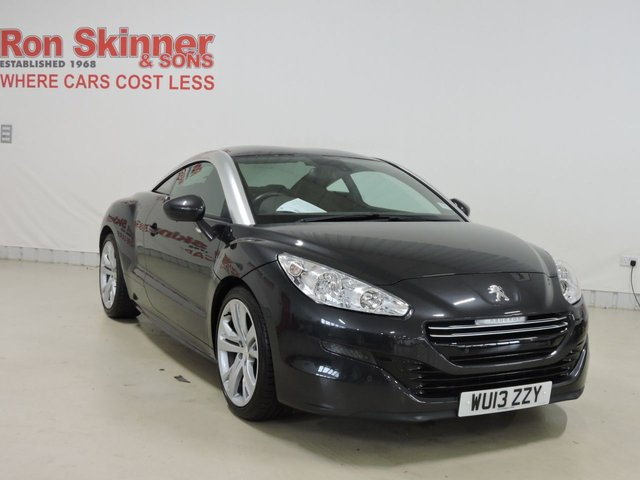 View our 2013 13 PEUGEOT RCZ 1.6 THP GT 2d 156 BHP