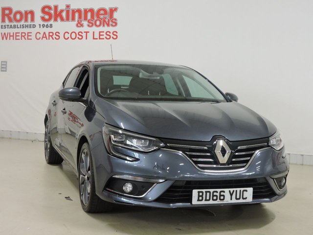 View our 2016 66 RENAULT MEGANE 1.2 SIGNATURE NAV TCE 5d 130 BHP