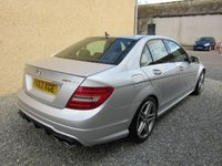 USED 2014 63 MERCEDES-BENZ C CLASS 6.2 C63 AMG 4d MCT 457 BHP