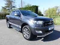 2016 FORD RANGER WILDTRAK 4X4 DOUBLE CAB AUTO 3.2TDCI 200Ps £21995.00
