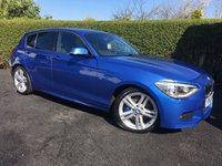 2013 BMW 1 SERIES 2.0 116D M SPORT 5d 114 BHP, PERFORMANCE PACK £11995.00