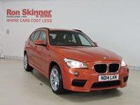 USED 2014 BMW X1 2.0 XDRIVE18D M SPORT 5d 141 BHP