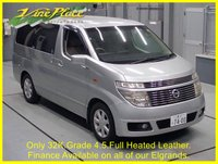 USED 2004 04 NISSAN ELGRAND 3.5  X Automatic,8 Seats,Only 32K.Grade 4.5.Full leather heated seats. +ONLY 32K+GRADE 4.5+LEATHER+