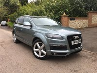 2008 AUDI Q7 3.0 TDI QUATTRO S LINE 5d AUTO 240 BHP PLEASE CALL TO VIEW £11750.00