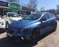 2014 VOLVO V40 1.6 D2 CROSS COUNTRY LUX 5d AUTO 113 BHP £10989.00