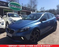 2014 VOLVO V40 1.6 D2 CROSS COUNTRY LUX 5d AUTO 113 BHP