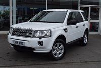USED 2014 14 LAND ROVER FREELANDER 2.2 TD4 GS 5d AUTO 150 BHP Full Land Rover Service History