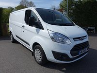 2014 FORD TRANSIT CUSTOM 290 L2 LWB TREND 2.2TDCI 125PS £12995.00