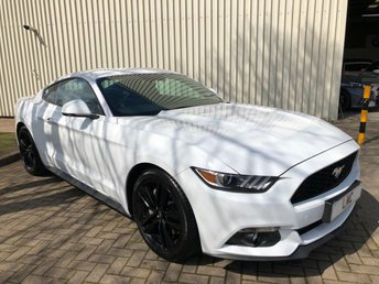 2016 FORD MUSTANG 2.3 ECOBOOST 2DR AUTO 313 BHP STUNNING EXAMPLE £27991.00
