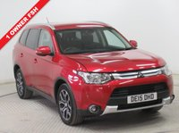 USED 2015 15 MITSUBISHI OUTLANDER 2.3 DI-D GX 3 5d AUTO 147 BHP 7 SEATS ***1 Owner, Full Service History, serviced in March 2016 at 6636 miles, March 2017 at 13,518 Miles and April 2018 at 21,750 Miles, Half Leather, Privacy Glass, Parking Sensors, Bluetooth, Air Conditioning, AUTO, 7 SEATS, 2 Keys. Free RAC Warranty and Free RAC Breakdown Cover. Nationwide Delivery Available. Finance Available at 9.9% APR representative.***