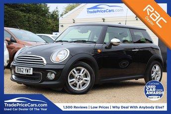 2012 MINI HATCH ONE 1.6 ONE 3d 98 BHP £6450.00