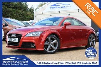 2011 AUDI TT 2.0 TFSI S LINE 2d 211 BHP £11000.00