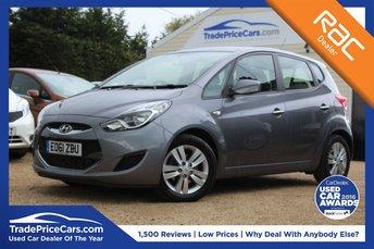 2011 HYUNDAI IX20 1.6 ACTIVE 5d AUTO 123 BHP £6450.00