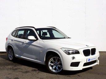 2011 BMW X1 2.0 SDRIVE20D M SPORT 5d 174 BHP £10995.00