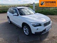 2014 BMW X1 2.0 XDRIVE20D XLINE 5d AUTO 181 BHP £15995.00