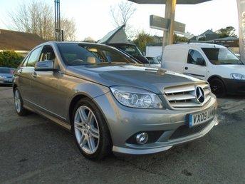 2009 MERCEDES-BENZ C CLASS 2.1 C220 CDI SPORT 4d AUTO 168 BHP £6495.00