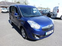 2015 VAUXHALL COMBO 2000 L1H1 Swb Sportive 1.6CDTI 105PS £SOLD