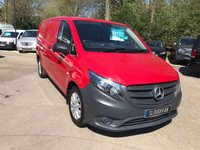 2016 MERCEDES-BENZ VITO 2.1 116 BLUETEC AUTOMATIC LWB £15995.00