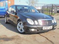 2007 MERCEDES-BENZ E CLASS 3.0 E280 CDI AVANTGARDE 4d AUTO 187 BHP £5240.00