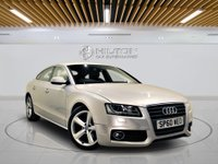 USED 2010 60 AUDI A5 2.0 SPORTBACK TDI S LINE 5d 168 BHP AIR CON + AUX
