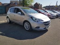 USED 2015 15 VAUXHALL CORSA 1.4 SE 5d AUTO 89 BHP NEW MODEL CORSA AUTOMATIC SE MODEL WITH GREAT SPECIFICATION AND CHEAP TO RUN!  WITH HALF LEATHER TRIM, PARKING SENSORS, AIR CONDITIONING, HEATED SEATS, BLUETOOTH , ALLOY WHEELS, INTELLILINK,AND MEDIA!