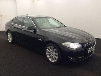 2010 BMW 5 SERIES 3.0 525D SE 4d AUTO 202 BHP £10499.00