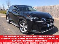 2015 LEXUS NX 2.5 300H PREMIER 5d AUTO 153 BHP £28850.00