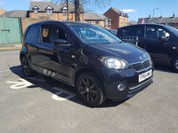 USED 2014 64 SKODA CITIGO 1.0 BLACK EDITION 3d 59 BHP SPECIAL EDITION WITH BLACK ALLOY WHEELS!..GREAT SPEC AND CHEAP TO RUN! WITH AIR CONDITIONING AUXILLIARY INPUT ,BLUETOOTH , MEDIA , AND USB!..ONLY 16200 MILES FROM NEW!! EXCELLENT FUEL ECONOMY AND ONLY £20 ROAD TAX!