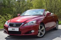 2009 LEXUS IS 2.5 250C SE-I 2d AUTO 204 BHP £10990.00